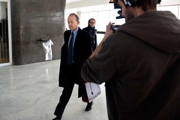Thierry Gaubert, ancien conseiller de Nicolas Sarkozy, en2011.