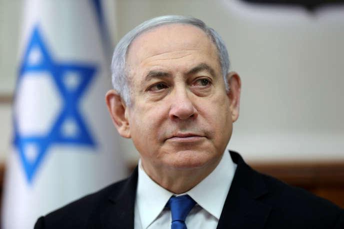 Benyamin Nétanyahou à Jérusalem, le 1erdécembre 2019.