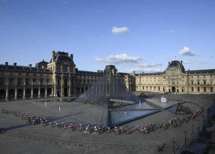 Le Louvre, à Paris, le 28 juillet.
