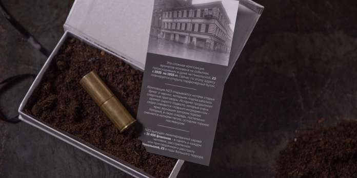 « N° 23 », le parfum moscovite au goût de cendre