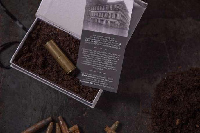 Le parfum «N° 23» conçu par l'agence de communication russe Action.