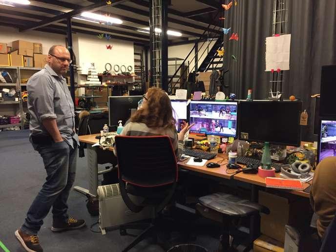 Le créateur de jeu vidéo français David Cage, fondateur du studio Quantic Dream.