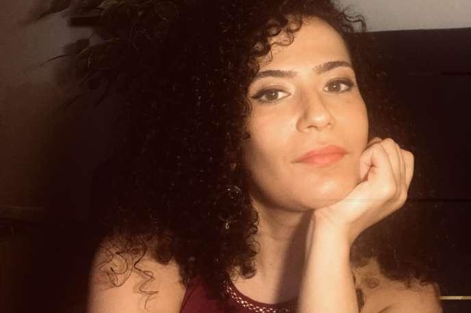 Amira Nedjarchez elle à Vanves, en région parisienne, en 2019.