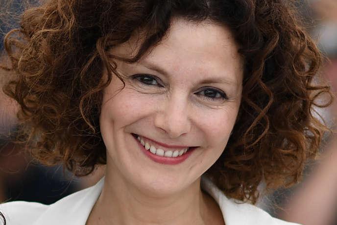 L'actrice franco-algérienne Nadia Kaci au Festival de Cannes, en mai 2017.