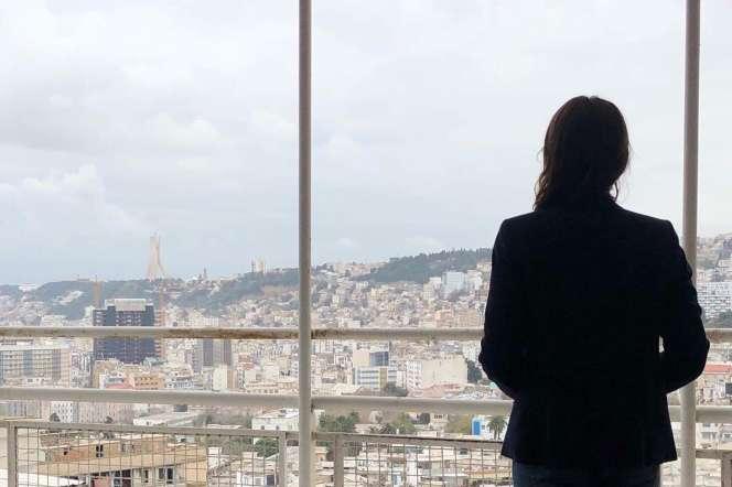 Khadidja à Alger, en 2019.
