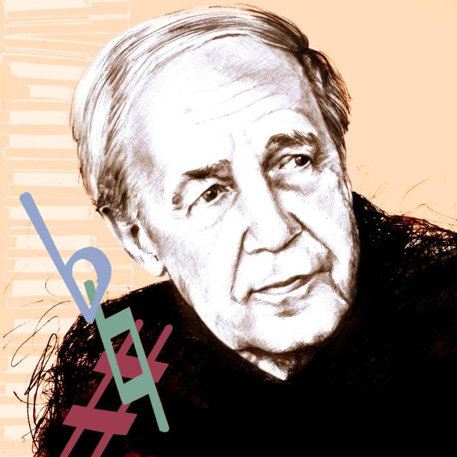 Le musicien Pierre Boulez(1925-2016).