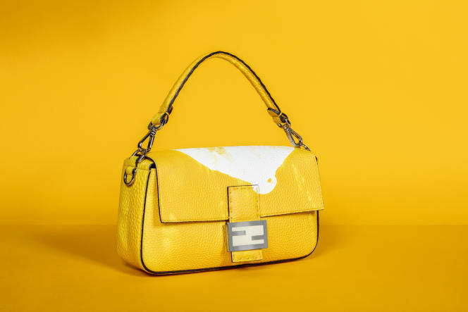 Le sac Baguette parfumé de Fendi, avec l'impression de «l'âme de la fragrance».