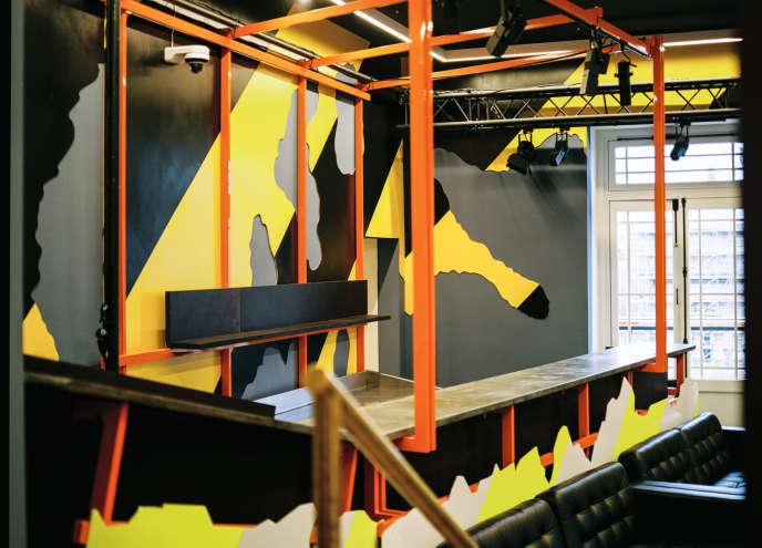 Le salon Nijinski, l'espace principal de Joséphine.