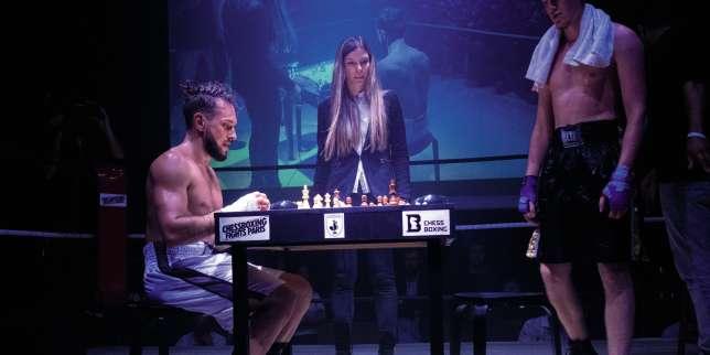 Thomas Cazeneuve, le roi français du chessboxing, un sport qui mêle échecs et boxe