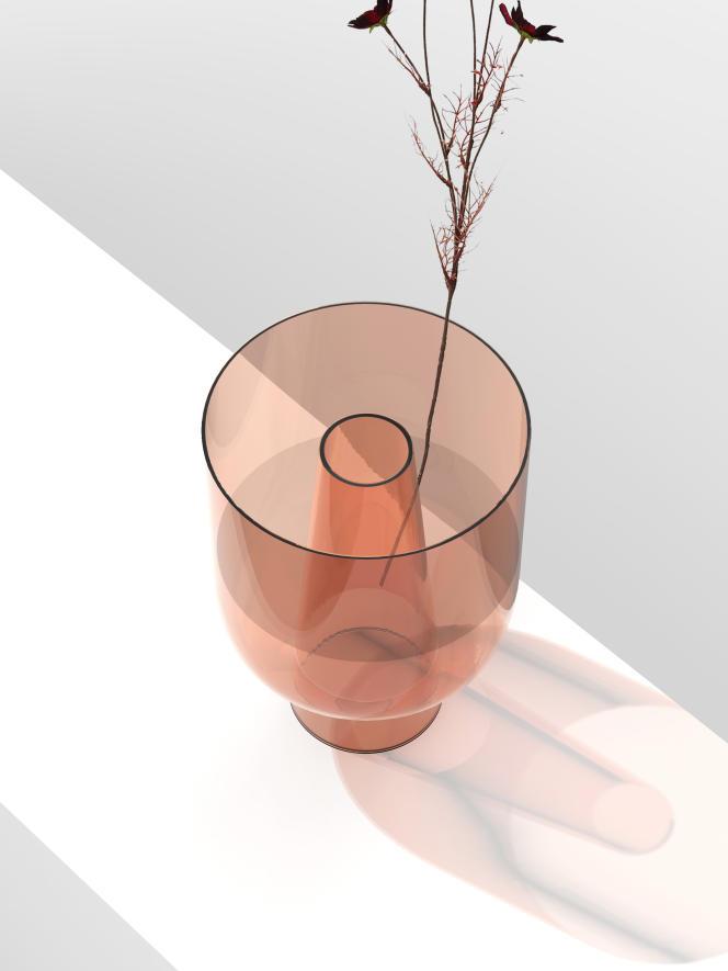 Humidificateur d'air pensé comme un vase, Métis 02 par Natacha & Sacha.