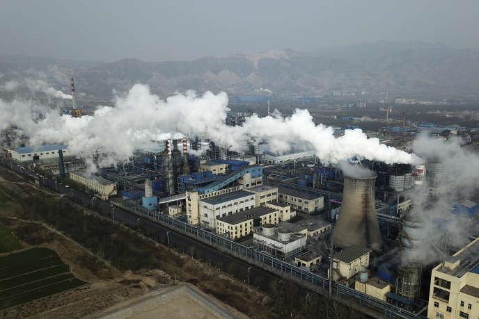 Une usine utilisant du charbon, à Hejin, en Chine, le 28 novembre.