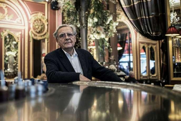 Bernard Pivot, à Lyon, en 2013.