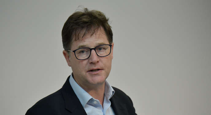 Le responsable des affaires publiques de Facebook, Nick Clegg, à Berlin, le 24 juin.