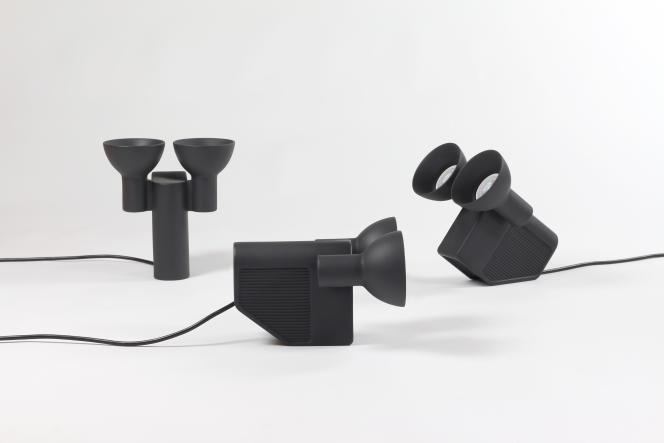 Lampe à poser Olo en céramique multi-positions, 2016, Jean-Baptiste Fastrez pour Moustache.