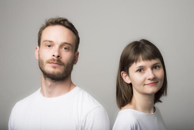 Sacha Hourcade et Natacha Poutoux du studio Natacha & Sacha.