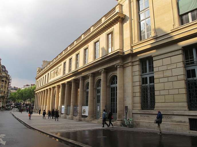 L'université Paris-Descartes, à Paris.