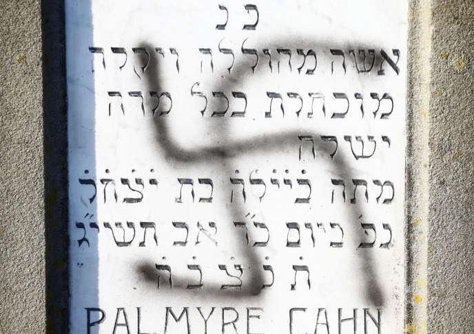 La décision fait suite à la profanation de 107 tombes dans le cimetière juif de Westhoffen.