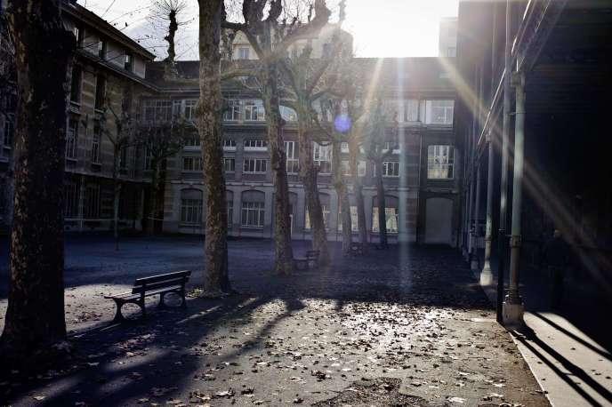 Le lycée du Parc, à Lyon, le 6 janvier 2012.