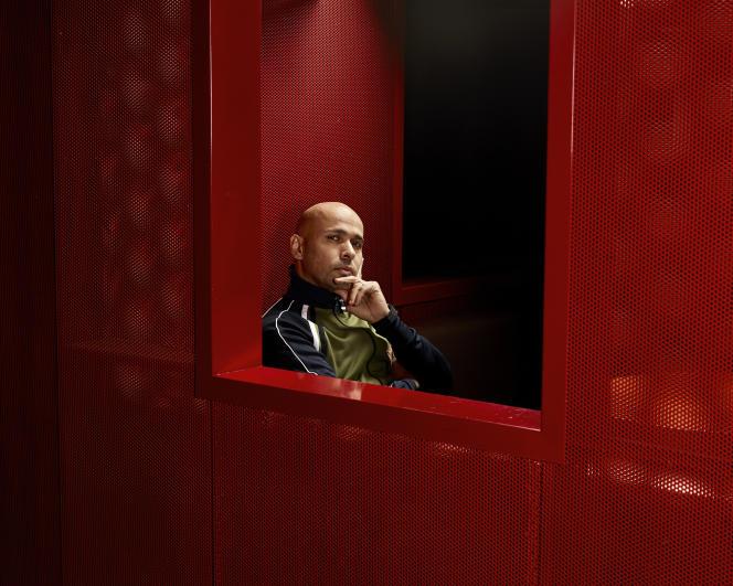 Eric Judor, auCorso Bibliothèque à Paris,le 2 décembre.