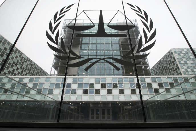 Devant la Cour pénale internationale, à La Haye, le 7 novembre 2019.
