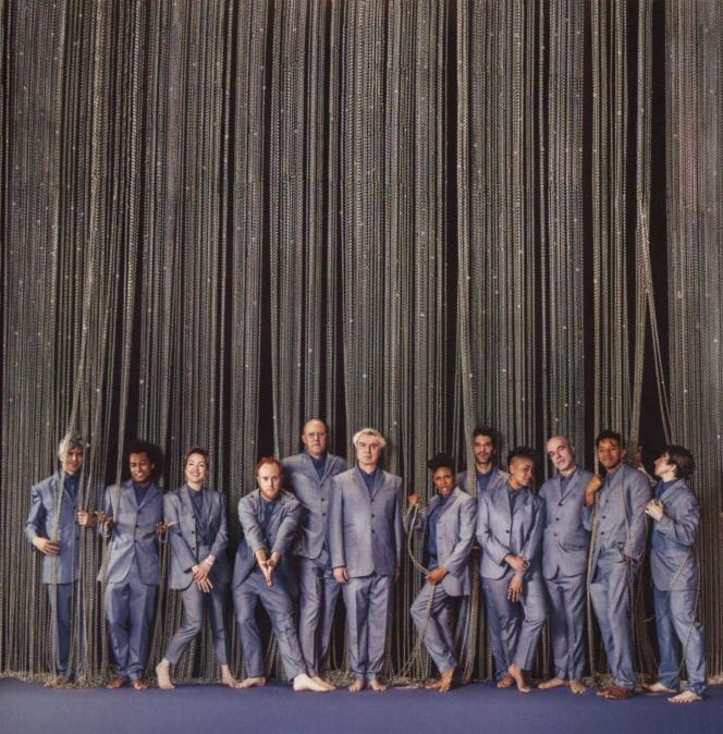 Pochette de l'album«American Utopia On Broadway», de David Byrne.