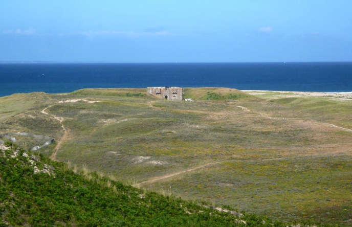 Le fort d'En Tal sur l'Ile-d'Houat.