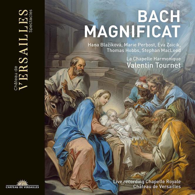 Pochette de l'album«Magnificat BWV 243A. Cantate BWV 63», de Jean-Sébastien Bach, par La Chapelle Harmonique.