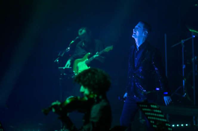 Etienne Daho en concert aux Trans Musicales de Rennes, le 4 décembre 2019.