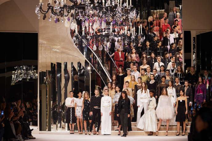 Collection métiers d'art 2019-2020 de Chanel.