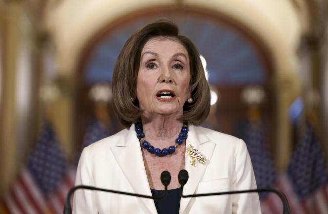 Nancy Pelosi à Washington, le 5 décembre.