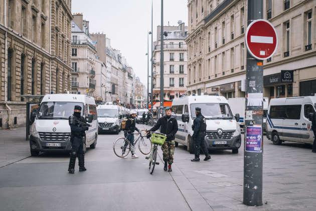 à Paris, 6 000 policiers et gendarmes ont été déployés.