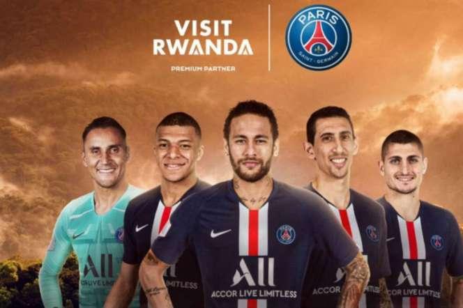 Capture d'écran du site Internet du Paris-Saint-Germain.