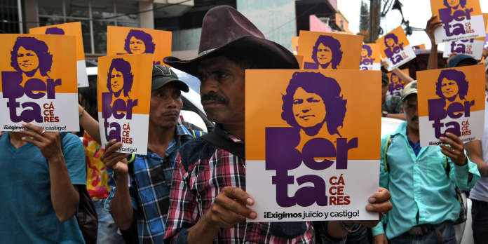 Honduras : 30 à 50 ans de prison pour les tueurs de l'écologiste Berta Caceres