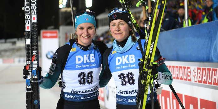 Biathlon : victoire pour Justine Braisaz et 3e place pour Julia Simon à Östersund
