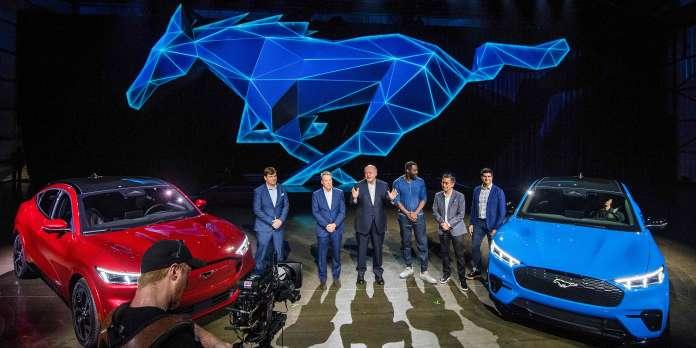 Ford-Tesla, le match des bolides « propres »