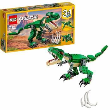Trois projets en un seul kit Le dinosaure féroce 3-en-1 Lego Creator