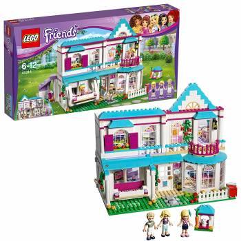 Un grand set pour des séances de jeu pleines d'imagination La maison de Stéphanie Lego Friends