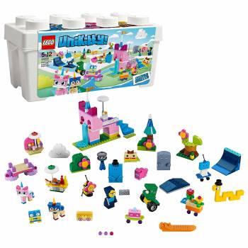 Une boîte de briques fantaisiste La boîte de briques créatives Unikingdom Lego Unikitty