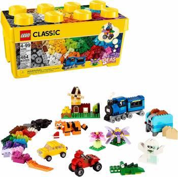 Une grosse boîte de briques classique La boîte de briques créatives Lego Classic