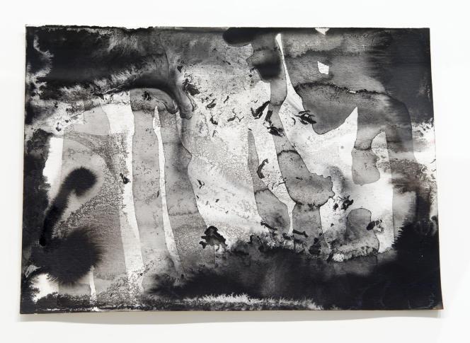 Gerhard Richter, «Abstract VII» (1991), visible à La Vieille Charité.