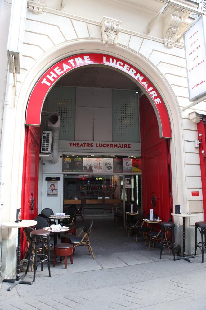 Le Théâtre Lucernaire, à Paris (6e ).
