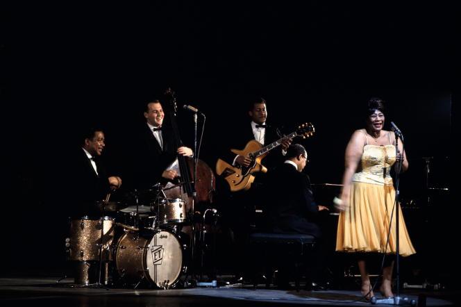 «Ella Fitzgerald, les sessions photographiques de Jean-Pierre Leloir», concert à l'Olympia, le 23 mars 1963