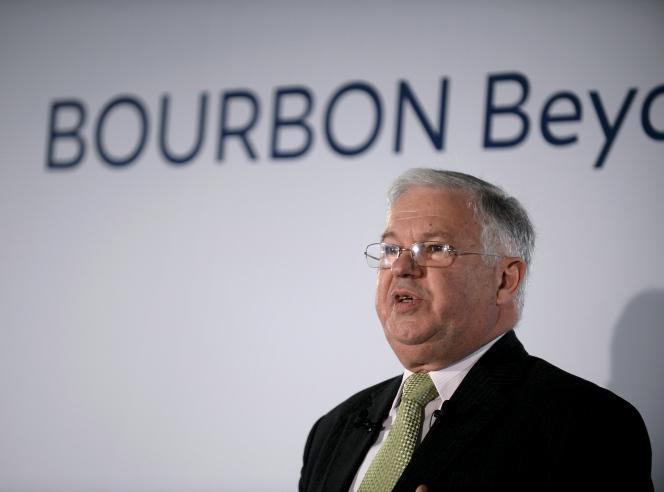 Jacques de Chateauvieu, PDG et actionnaire majoritaire de Bourbon, à Paris, le 29 mars 2016.