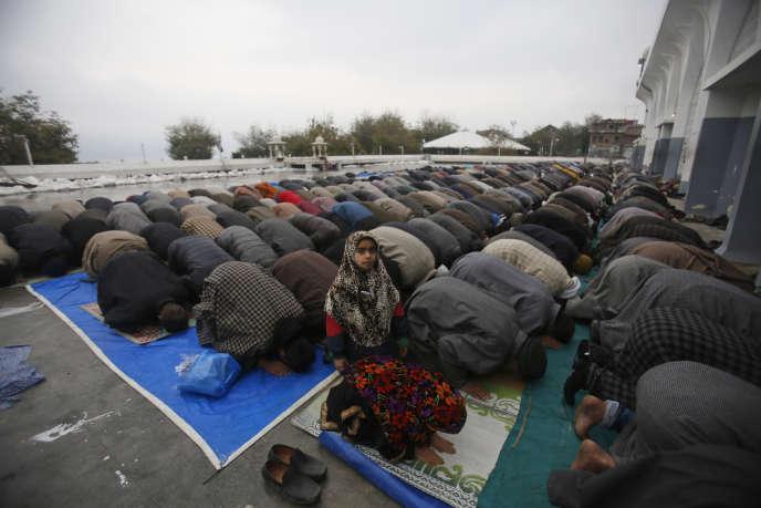 A Srinagar, au Cachemire, le 15 novembre.