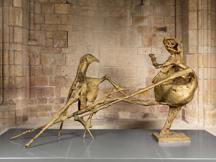 «La Montagne» (1955-1956), de Germaine Richier, bronze.