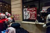Manifestation contre le projet de réforme des retraites, place de la Nation à Paris, le 5 décembre.