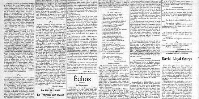 Marcel Prévost sur le 1erprix Nobel fémininde littérature: «Selma Lagerlöf est un magnifique exemple de femme de lettres»