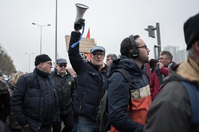 Manifestation du 5 décembre à Rouen.