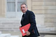 François Bayrou, à l'Elysée, en mai 2017.