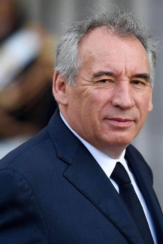 François Bayrou à Paris, le 30 septembre.